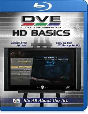Joe Kanes Digital Video Essentials Hd Basics Blu Ray Home Theater Calibration
