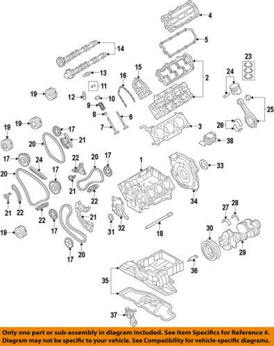 AUDI OEM 11-15 Q7-Camshaft Cam 06E109102BF | eBay | Audi Q7 Engine Diagram |  | eBay