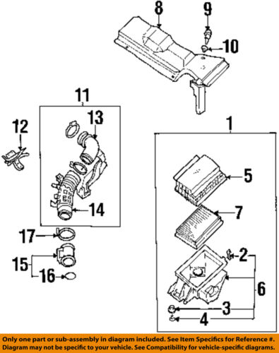Details about Infiniti NISSAN OEM 95-01 Q45 Engine-Air Cleaner Filter on