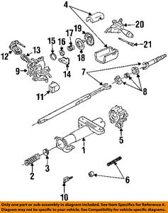 GM OEM 26039655 Steering Column-Support Housing Repair Kit