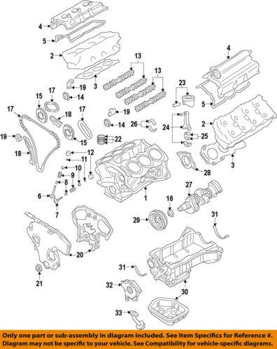 Nissan OEM 09-14 Maxima-Motor Cárter De Aceite 111109N00B | eBayeBay
