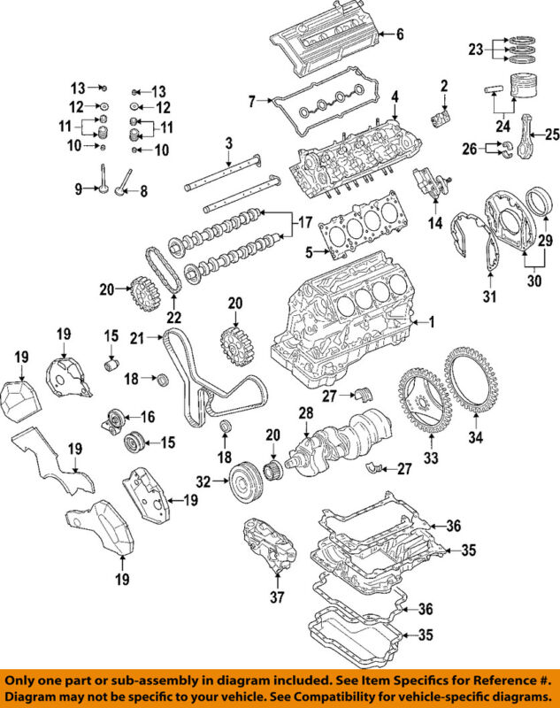 Audi Oem 04-06 A8 Quattro-engine Cylinder Head 077103266kx