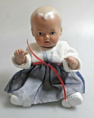 SCHILDKRÖT Puppe STRAMPELCHEN 16, Replica; ca. 16 cm; Originalkleidung