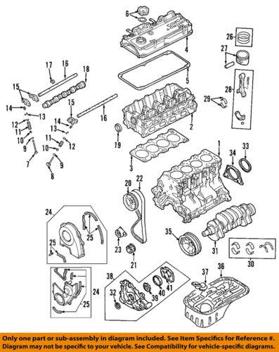 MD303148 Genuine Mitsubishi GASKET,ROCKER COVER