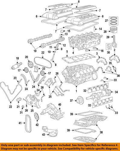 BMW OEM 02-03 X5-Engine Piston Ring 11257515722