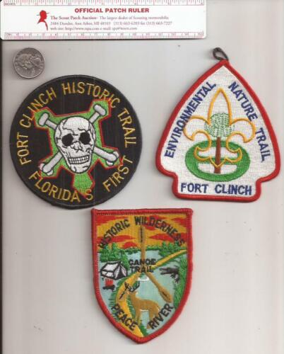 Collection of 3 Different Florida Trail Patches