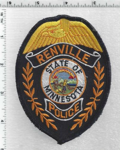 Renville Police (Minnesota) 1st Issue Shoulder Patch