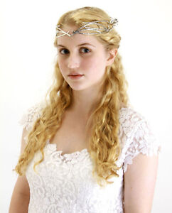 the Hobbit Lord of the Rings Elf Princess Middle-Earth Medieval Galadriel Crown