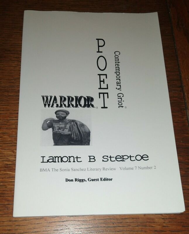 Warrior Poet Sonia Sanchez Literary Review Signed & Inscribed by Lamont Steptoe