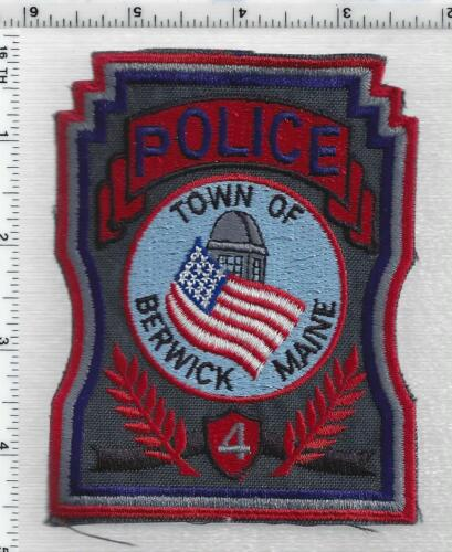 Town of Berwick Police (Maine) 2nd Issue Shoulder Patch