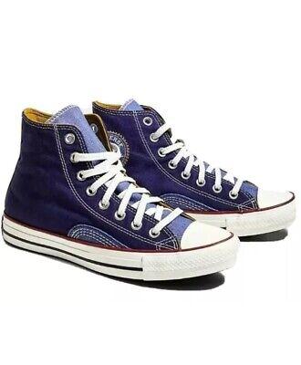 Converse Chuck Taylor all star denim blue high top- Size UK 5...