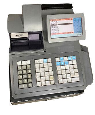 Sharp Up-820n Cash Register Pos Scanning Register- Discontinued Model