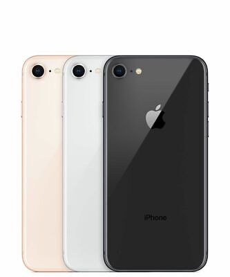 Apple iPhone 8 - 64GB - Black  (AT&T T-mobile) A stock Unlocked