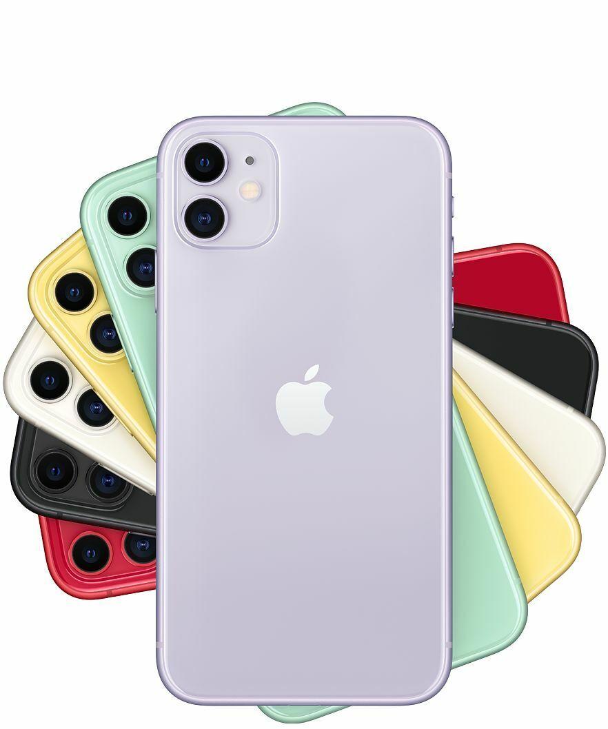 Apple iPhone 11 64/128/256GB White Black Red Green Yellow Pu