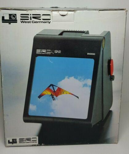 Siro Star 2000 Slide Viewer