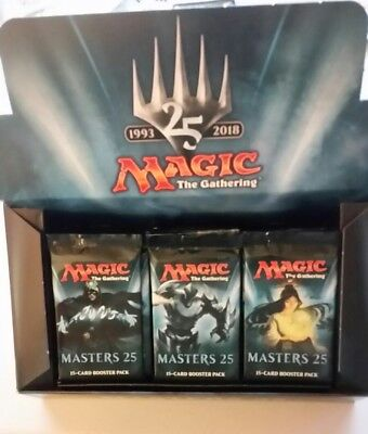 Magic The Gathering Sealed Modern Masters 25 Booster Pack  Jace Imperial Filter