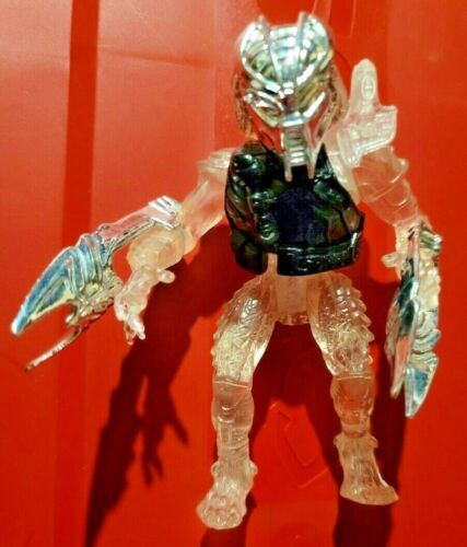AMBUSH CLEAR PREDATOR VINTAGE KENNER Mail-In action figure mask chest plate LOOK
