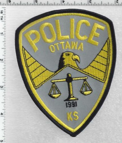 Ottawa Police (Kansas) 2nd Issue Shoulder Patch