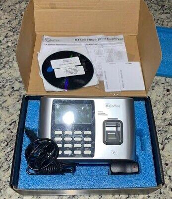 Bio Office Bt500 Series Fingerprint Employee Time Clock