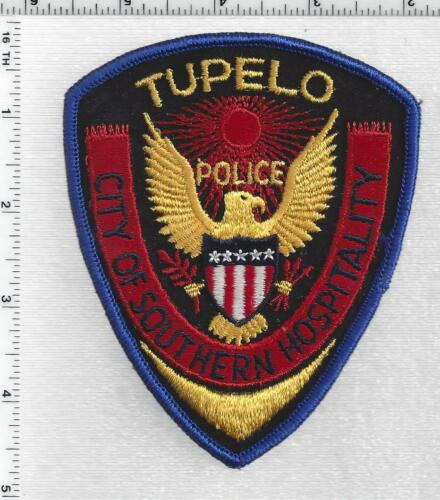Tupelo Police (Mississippi) 1st Issue Shoulder Patch