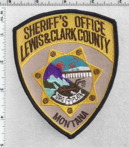 Lewis & Clark County Sheriff (Montana) 3rd Issue Shoulder Patch