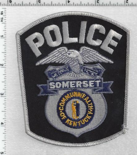 Someret Police (Kentucky) 3rd Issue Shoulder Patch