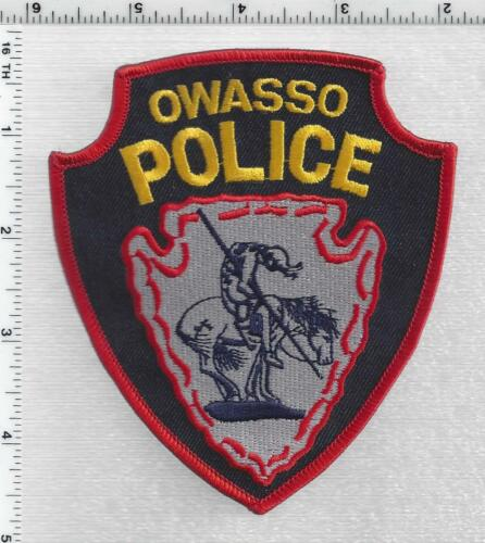 Owasso Police (Oklahoma) 3rd Issue Shoulder Patch