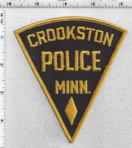 Crookston Police (Minnesota) 1st Issue Shoulder Patch