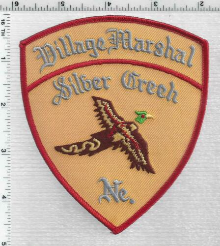 Silver Creek Village marshal (Nebraska) 1st Issue Shoulder Patch