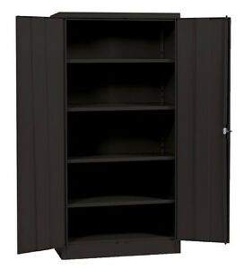 metal storage cabinet with doors metal storage cabinet ebay 23285