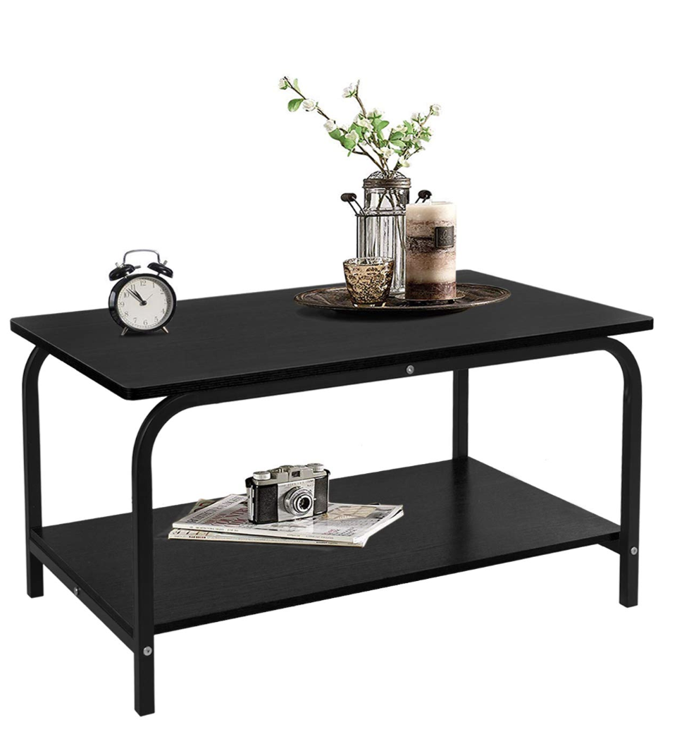 Small Coffee Table Low for living room office kitchen espres