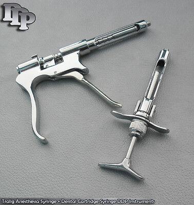 Tralig Anesthesia Syringe Dental Cartridge Syringe Ddp Instruments