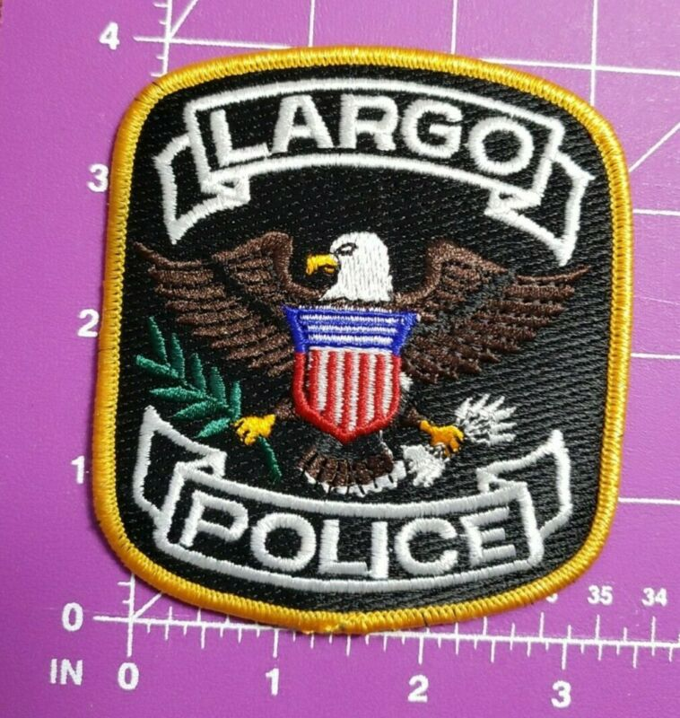 Largo Florida Police shoulder patch