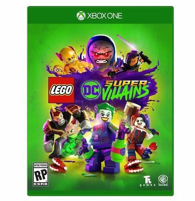 NEW! LEGO DC SUPER VILLAiNS (Microsoft XBOX ONE)  SEALED! FAST FREE SHIPPING!