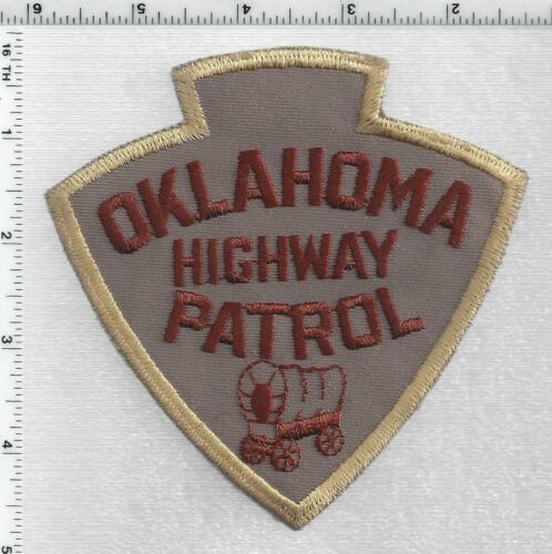 Highway Patrol (Oklahoma) 4th Issue Shoulder Patch