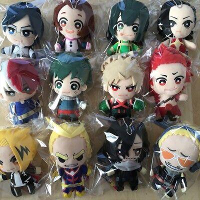 Boku no Hero Academia Plush Doll Tomonui Bakugo Kirishima Denki Momo Aizawa Mic