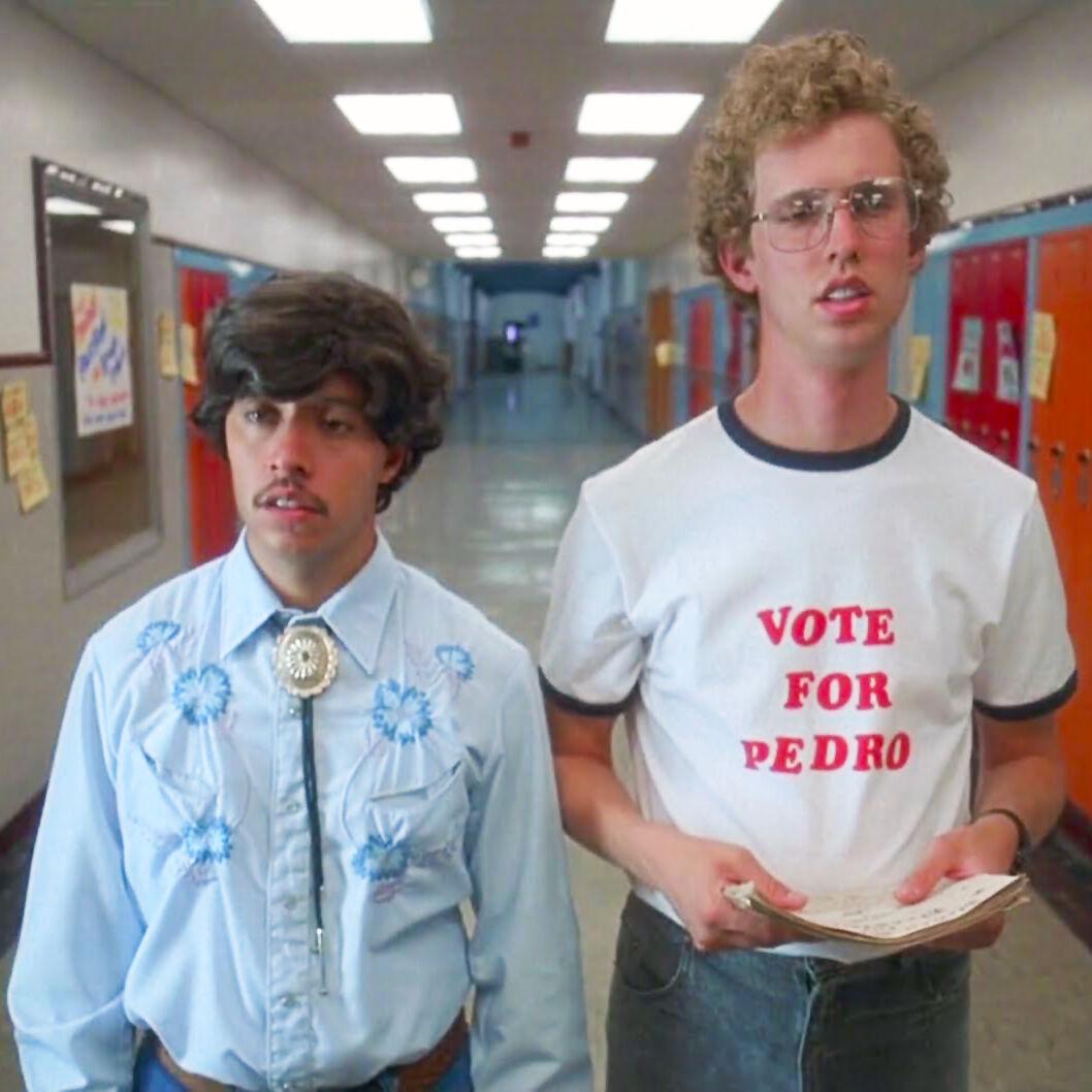 Shirt Funny Humor Gosh Vote For Pedro Napoleon Dynamite Youth T Halloween!