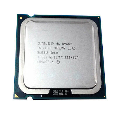 Intel Core 2 Quad Q9650 3 GHz 12MB 1333MHz Quad-Core LGA775 Socket T Processor segunda mano  Embacar hacia Argentina