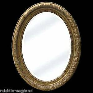 LARGE-OVAL-WALL-MIRROR-90CM-BEVELLED-GLASS-GOLD-ORNATE-GESSO-WOODEN-FRAME