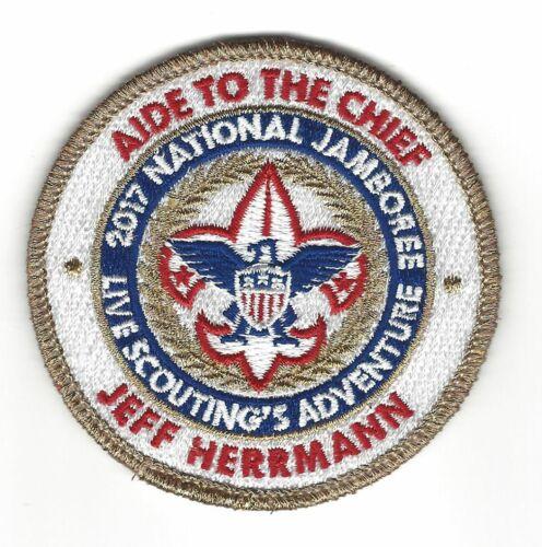 "2017 National Jamboree - ""Aide to the Chief"" Jeff Herrmann"