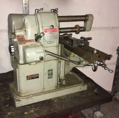 Atlas Mf Horizontal Milling Machine Benchtop Mill Machinist Tool Hobby Home Shop