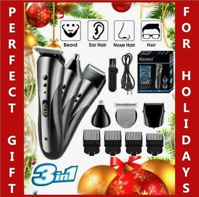 Cortadora de pelo profesional, máquina de afeitar, cortadora de barba, peluquero inalámbrico