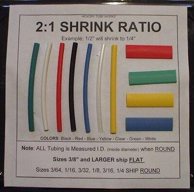 12 White 10 Heat Shrink Tubing - Shipping Discount