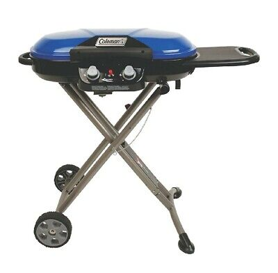 Coleman RoadTrip X-Cursion Portable Propane Grill W/Cart - Camping Stove - NEW Coleman Portable Grill