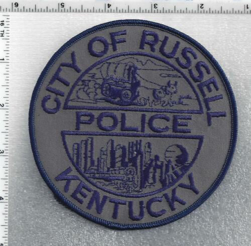 City of Russell Police (Kentucky) 3rd Issue Shoulder Patch