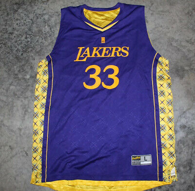 NBA Los Angeles Lakers Promo Reversible Jersey #33