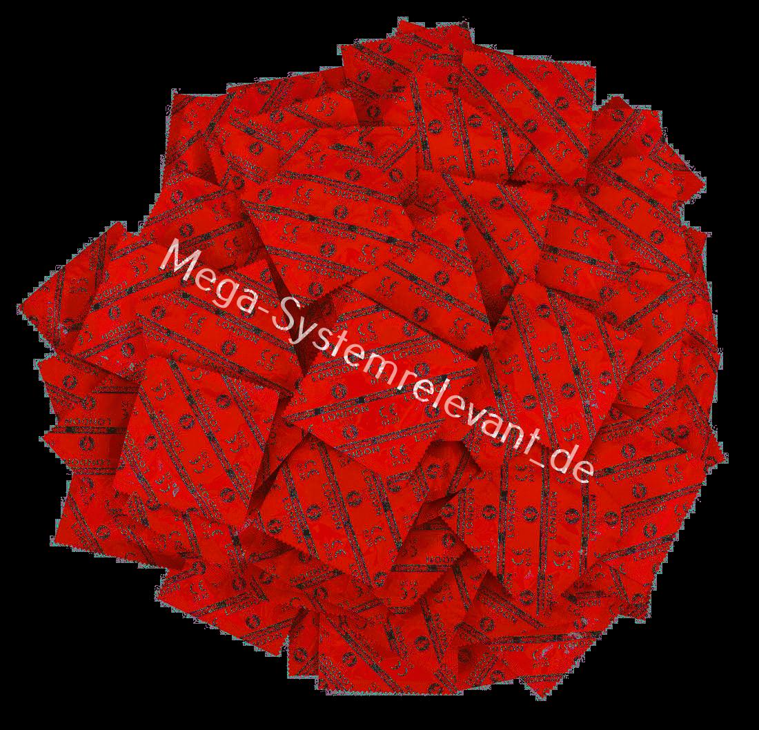 Durex London Rot Kondome Farbige Erdbeer Geschmack aromatisiert 6 12 24 50 100
