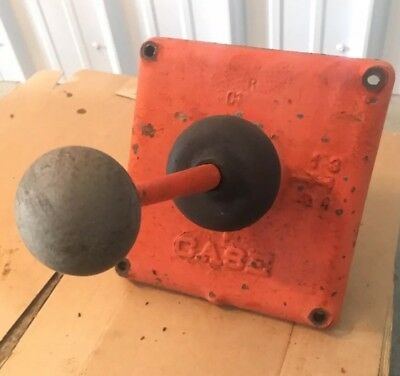 Vintage Ji Case 210 B Tractor - Shift Lever And Forks No Reverse - 1958