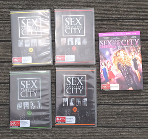 Sex and The City seasons 1 - 4 DVD & Sex & The City the movie Boronia Knox Area Preview