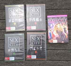 Sex and The City seasons 1 - 4 DVD and Sex & The City the movie Boronia Knox Area Preview